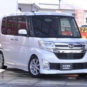 【⛽アイドリングストップ付きイチオシ低燃費車両⛽】TANTO タント カスタム X
