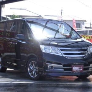 【⛽アイドリングストップ付きイチオシ低燃費車両⛽】SERENA セレナ ライダー ブラックライン S-HV