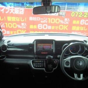 【⛽アイドリングストップ付きイチオシ低燃費車両⛽】N-BOX カスタム SSパッケージ